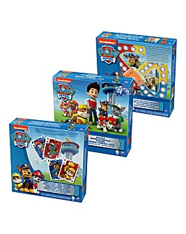 Paw Patrol 3 Pack Games Bundle