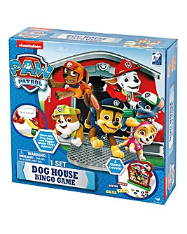 Paw Patrol Dog House Bingo