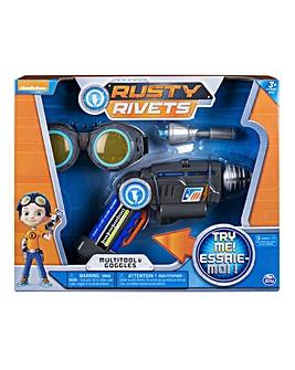 Rusty Rivets Multitool & Goggles