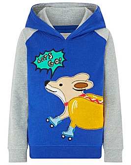 Monsoon Skater Dog Hoodie
