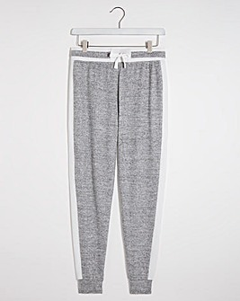 Light Grey Marl Stripe Jogger