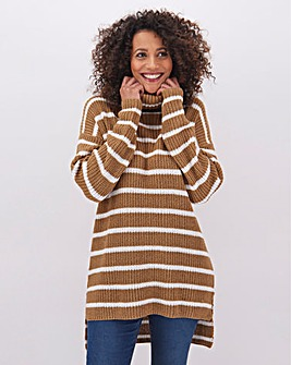 Tunic With Roll Neck