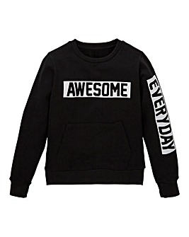 Boys Crew Neck Sweatshirt