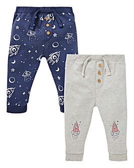 Baby Boy Pack of Two Jog Pants