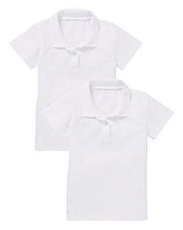 Girls Pack of Two PE Polo Tops