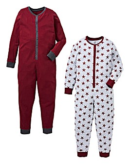 Boys Pack of Two Onesies