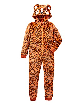 KD Tiger Fluffy Onesie