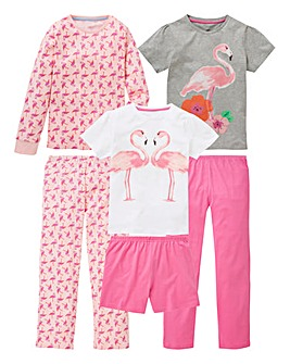 Older Girls Pack of Three Pyjamas