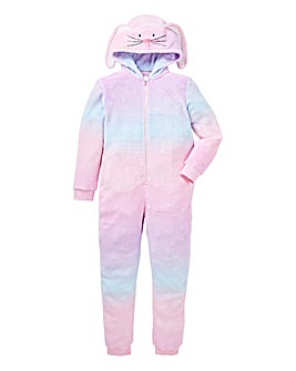 KD Rainbow Rabbit Fluffy Onesie