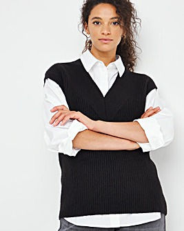 Knitted Tunic Vest