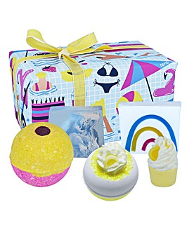 Bath Bomb Good Vibes Gift Set