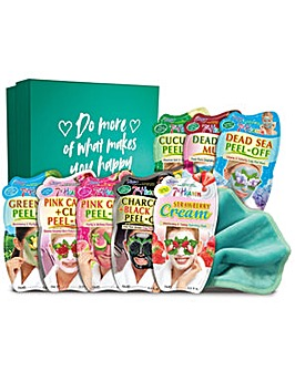 Montagne Jeunesse 7th Heaven Beauty Box Of Treats Face Mask Set
