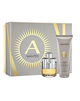 Azzarro Wanted Gift Set 50ml EDT & 100ml Hair & Body Shampoo