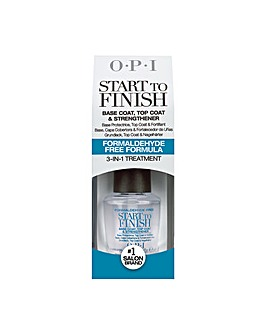 OPI Start To Finish Base & Top Coat Strengthener