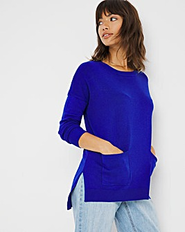New Boxy Jumper With Pockets