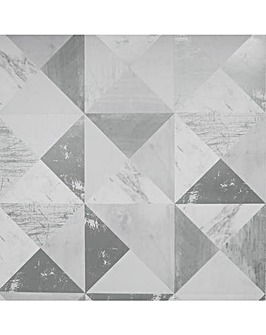Arthouse Dimensions Grey Wallpaper