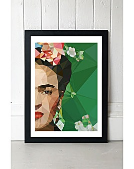 East End Prints Frida Crop by Studio Cockatoo Framed Art Print