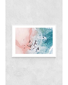 East End Prints Sea Bliss by Ingrid Beddoes Framed Art Print