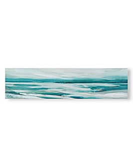 Art for the Home Abstract Shores Printed Canvas