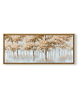 Art for the Home Forest Walks Boxed Framed Canvas