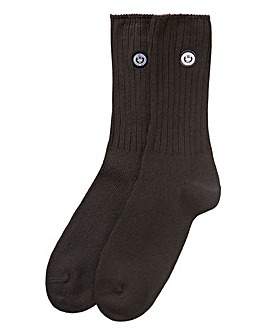 Superdry University Pack of 2 Grey Socks