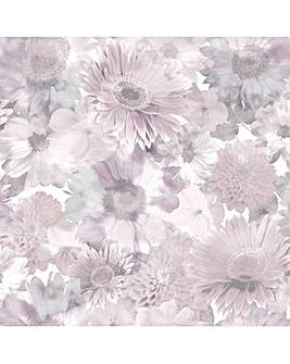 Superfresco Easy Summer Garden Pink Floral Wallpaper