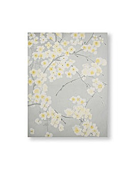Art for the Home Radiance Orchid Metallic Floral Printed Canvas
