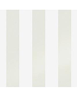 Laura Ashley Lille Pearlescent Stripe Linen Wallpaper