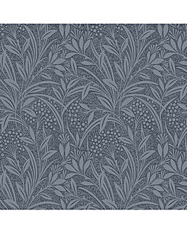 Laura Ashley Barley Dusky Seaspray Wallpaper