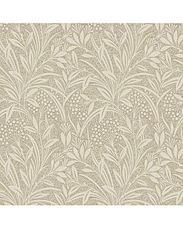 Laura Ashley Barley Natural Wallpaper