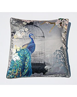 Arthouse Suki Silver Cushion