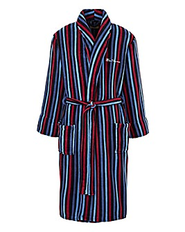 Ben Sherman Stripe Dressing Gown