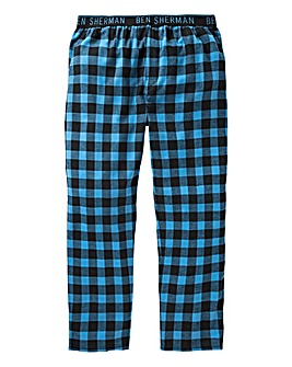 Ben Sherman Open Hem Check Loungepants