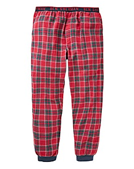 Ben Sherman Cuffed Check Loungepants