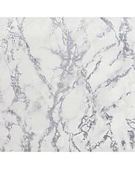 Arthouse Artistick Carrara Marble White Wallpaper