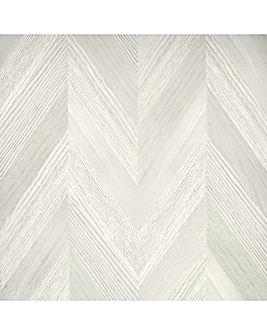 Arthouse Artistick Chevron Wood Neutral Wallpaper