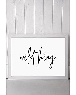 East End Prints Wild Thing by Honeymoon Hotel Art Print
