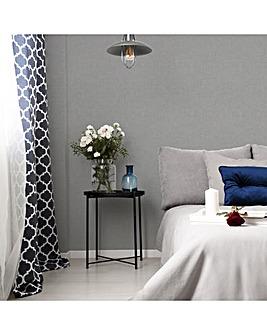 Superfresco Grey Linen Glitter Wallpaper