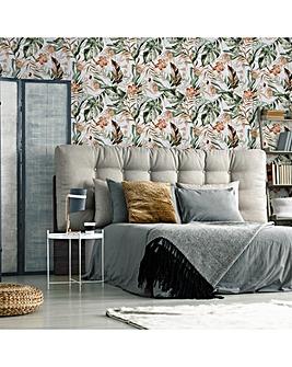 Fresco Vintage Organic Palm Wallpaper