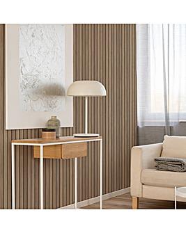 Fresco Natural Wooden Slats Wallpaper