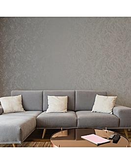 Superfresco Mid Grey Tropic Wallpaper