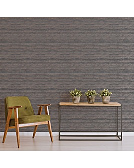 Superfresco Grey/Rose Sisal Wallpaper