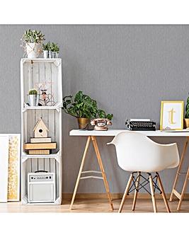 Superfresco Silver Cambric Wallpaper