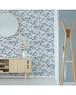 Superfresco Easy Grey Meadow Wallpaper