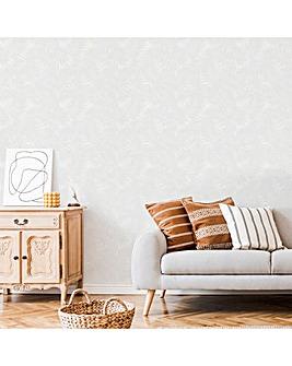 Superfresco Paintable Leaf Wallpaper