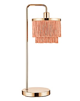 Fringe 2 Tier Table Lamp