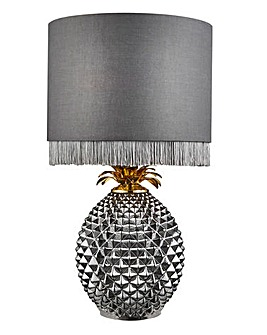 Fringe Pineapple Table Lamp
