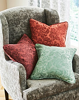 Buckingham Jaquard Filled Cushion