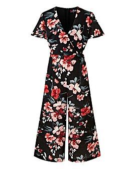 Lovedrobe Floral Culotte Jumpsuit