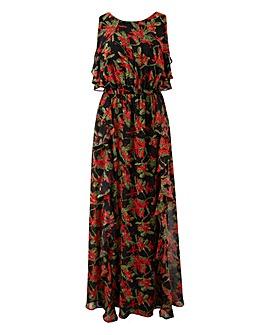 Lovedrobe Frill Maxi Dress